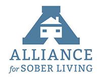 Alliance for Sober Living - logo design