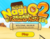 Video game: NagiQ 2. Treasure Hunt