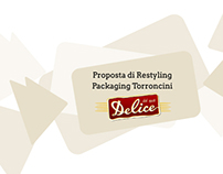 Restyling  Packaging Torroncini