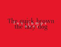 Sabores typeface
