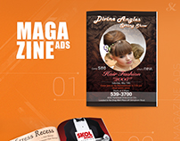 Magazine Ads Print Work