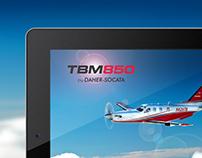 Daher Socata TBM 850 iPad App
