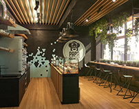 Papa cake, the bakery shop designed by ZOOI
