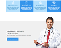 Medical Health Care and Clinic WordPress Theme