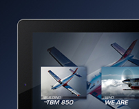 Daher Socata Building the TBM 850 iPad App