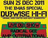 DUBWISE HI-FI /Poster