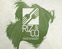 Riz&Co. Restaurant Logo