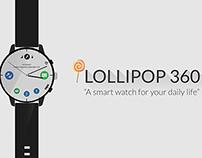 Concept Smart Watch UI- Course Project