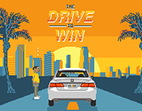 Honda Classic Drive to Win 8 Bit Game