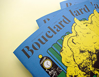 Bouclard revue: Art direction & custom typeface