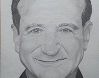 Robin Williams - graphite
