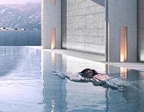 Kotor Bay Montenegro Hotel Pool & Restaurant