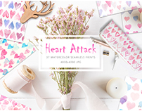Heart Attack: Watercolor Prints