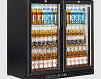 Interlevin EC20H Low Energy Double Door Bottle Cooler 2