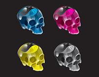 CMYK Skulls