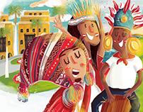 Perú / World Cup Google Doodle