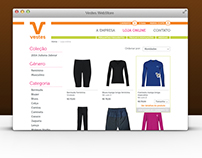 Vestes Customized WebStore