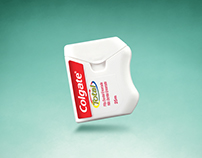 Colgate's dental floss / Print