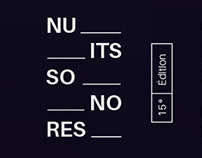 - Affiche - NUITS SONORES