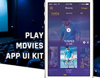 Movies / Videos iOS Mobile Tickets APP - UI & UX...