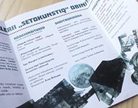 Brochure for Seto Studio and Gallery