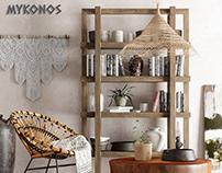 Mykonos 7 Interior Corona R / Fstorm