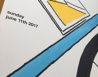 Bike Race and Brew Festival Poster