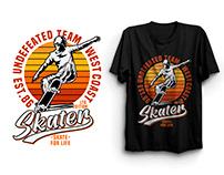 Custom Graphic T-shirt Design