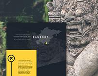 National Geographic Bangkok - Web design