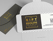 Mock Up Template: Gift Check / Invitation
