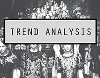 Trend Analysis S/S12