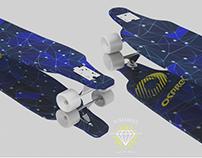 Longboard 3D design