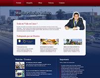 Martín Príncipe Laines / Alcalde Municipalidad de Lince