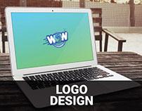 WOW Laundry Logo Design