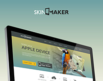 SkinMaker Website Design