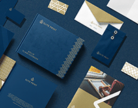 Elite print brand design