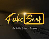 Fake Serif Font - 100% Free for commercial use