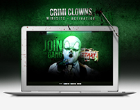 Crimi Clowns | Activation website  | Created at Emakina