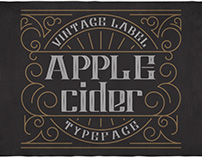 FREE Apple Cider Typeface