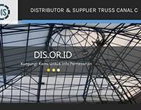 Distributor & Supplier Truss Canal C reng Galvalum
