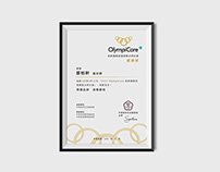 OlympicCare|Certificate of Merit Visual Design