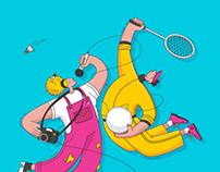 Iliustracijos sporto ir kultūros festivaliui