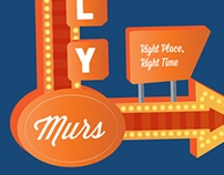 Olly Murs Movie styled tour poster