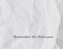 Holocaust Poster Competition 2013