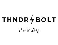 THNDRBOLT theme shop