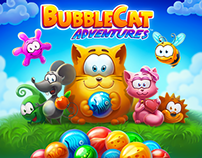 Bubble cat adventures