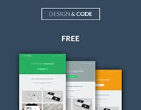 Design & Code - Free PSD