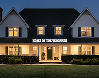 Burger King / Homes of the Whopper / Outdoor + Direct