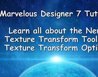 Marvelous Designer 7 Tutorial: Texture Transform Tool