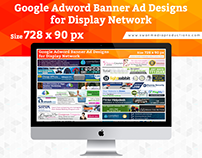 Google Display Network Banner Ads | 728x90px